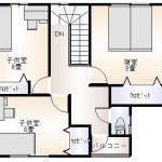 庄内町新築建売住宅A棟平面3