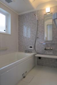 鶴岡市大西町新築建売住宅A棟浴室