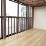 鶴岡市中古住宅戸建てみどり町2階物干し場