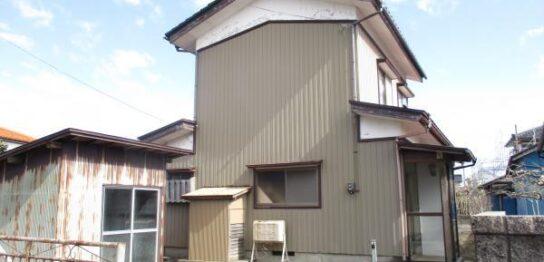 鶴岡市中古住宅戸建て大宝寺町外観